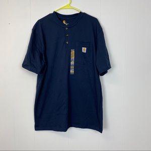 Carhartt Navy Blue Shirt Original Fit